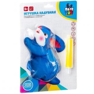 """Надувная игрушка с инерционным механизмом """"Зайчик"""" Baby You"""