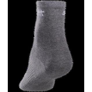Носки средние Starfit Sw-206, бордовый/серый меланж, 2 пары размер 35-38