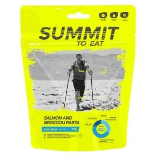 Summit to Eat Лосось и паста с брокколи Summit to Eat