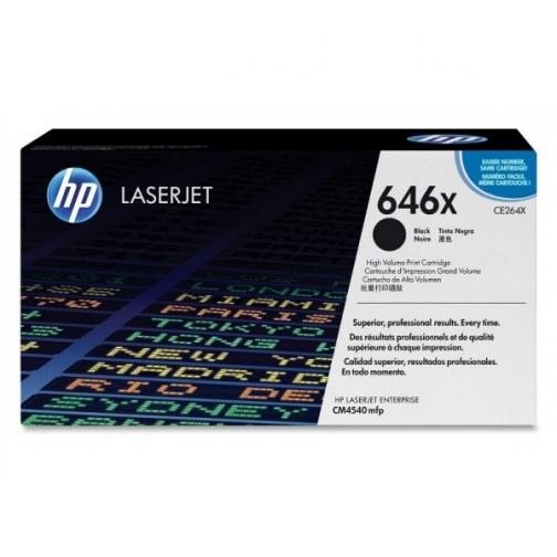 Оригинальный картридж HP CE264X для HP CLJ CM 4540 (черный, 17000 стр.) 853-01 Hewlett-Packard 852455 1