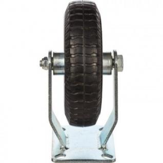 Колесо для тележки PRF 200, непов, литое, без торм, 200мм