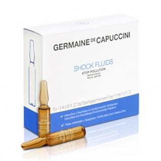 Options shock fluids stop pollution - Сыворотка против агрессивного воздействия окружающей среды Germaine de Capuccini