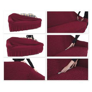 """Чехол для трехместного дивана ПМ: KARNA Чехол для дивана """"Стамбул"""" трехместный без юбки"""