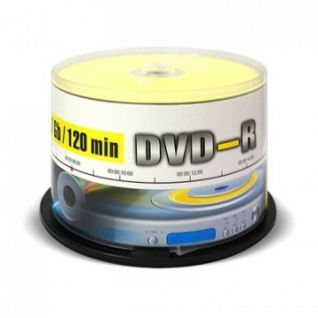 Носители информации Mirex DVD-R 4,7 Гб 16x cake box 50 (UL130003A1B)