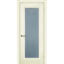 Дверное полотно Profilo Porte PSC- 25, 29/2 Цвет Белый, Магнолия, Стекло