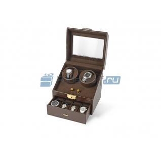 Шкатулка кожаная для часов с автоподзаводом «Респект»