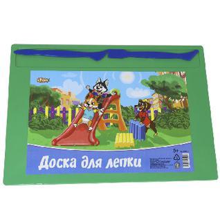 Доска для лепки №1School Шустрики А4 с 2-я стеками, цвет.