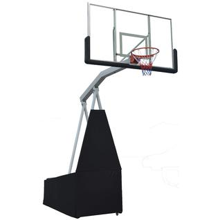 DFC Баскетбольная мобильная стойка DFC STAND72G 180x105 см, стекло