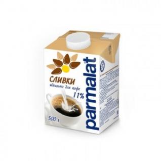 Сливки Parmalat ультрапастер. 11% 0,5л. т/пак