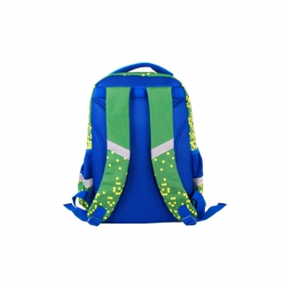 Рюкзак школьный с пикси-дотами (зеленый) Gulliver рюкзаки