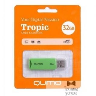 Qumo USB 2.0 QUMO 32GB Tropic Green QM32GUD-TRP-Green