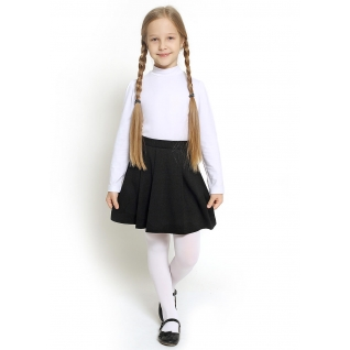 Джемпер для девочки, цвет белый, размер 30
