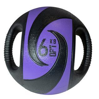 ORIGINAL FIT.TOOLS Мяч тренировочный (медицинбол) ORIGINAL FIT.TOOLS с хватами, 6 кг FT-DHMB-06