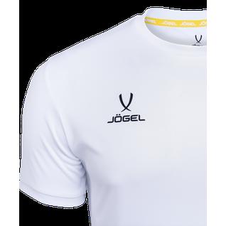 Футболка футбольная Jögel Camp Origin Jft-1020-016-k, белый/черный, детская размер YXS