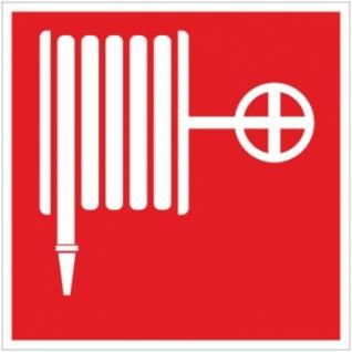 Знак безопасности F02 Пожарный кран (плёнка,ф/л,200х200)