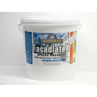 Краска Мономах Facadlatex Premium» 98% белизны ФАСАДНАЯ 7 кг