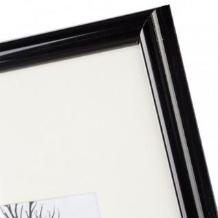 Рамка с паспарту, пластик, 21х30, черный цвет 508П