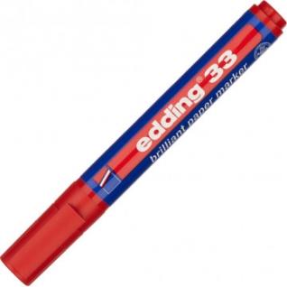 Маркер пигментный EDDING E-33/002 красный 1,5-3 мм скош. наконечник