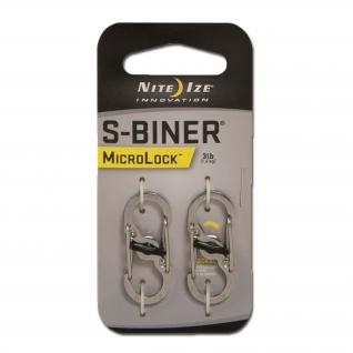 Nite Ize Карабин S-Biner MicroLock, 2 шт.