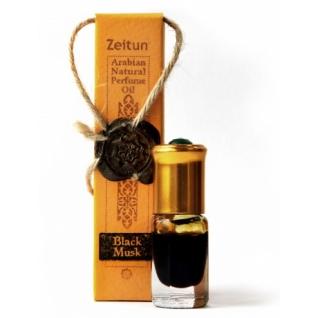 Арабские духи - Концентрированое парфюмерное масло Зейтун №6 Черный мускус ролл-он