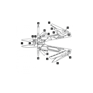 Мультитул Leatherman OHT, 16 функций, нейлоновый чехол MOLLE, черный (+ Power Bank в подарок!)