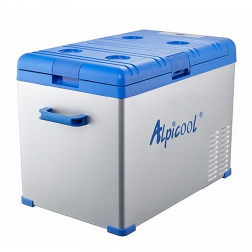 Kомпрессорный автохолодильник ALPICOOL ABS-40 синий (40л, 12/24/220В) 36971479 1