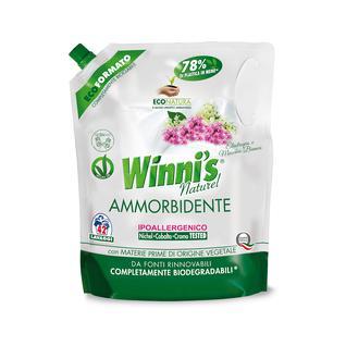 Кондиционер для белья (сменный блок) Winni's 1470 мл аромат белый мускус