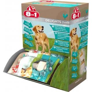 8in1 8in1 DENTAL DELIGHTS XS косточки для чистки зубов 7,5 см