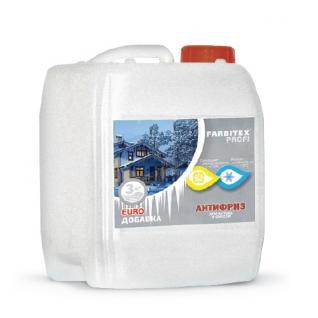 Добавка противоморозная для бетона и строительных смесей FARBITEX Profi, 10 л
