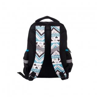Рюкзак школьный с пикси-дотами (черный) Gulliver рюкзаки