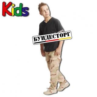 Mil-Tec Брюки детские BDU, камуфляж пустынный