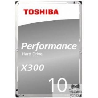 "Toshiba 10TB Toshiba X300 (HDWR11AUZSVA) SATA 6.0Gb/s, 7200 rpm, 256Mb buffer, 3.5"""