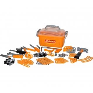 Набор инструментов №10 (166 элементов) (в контейнере) Полесье