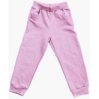 Штаны для девочки розовые
