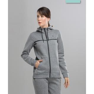 Женская спортивная толстовка Fifty Balance Fa-wj-0103, серый размер L