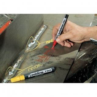 Маркер пеинт (лак) EDDING E-790/5 желтый 2-3мм, пласт. корп.