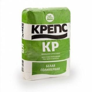 Шпаклевка Крепс КР полимерная /20,0 кг/ (56 шт на поддоне)