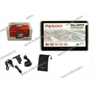 Навигатор GPS PROLOGY iMAP-560TR диагональ 127мм Навител + видеорегистратор