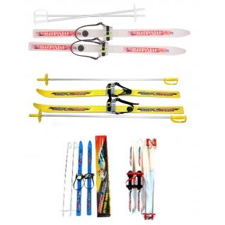 """Детские лыжи с креплениями """"Вираж-спорт"""" MAXiSPORT"""