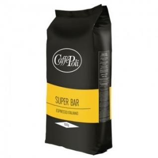 Кофе Caffe Poli Super Bar в зернах,, 1 кг.