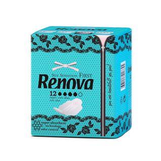 Ультратонкие гигиенические прокладки RENOVA, 12 шт
