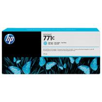 Оригинальный картридж B6Y12A 771C для принтеров HP Designjet Z6200/Z6600/Z6800, светло-голубой, струйный, 775 мл 8676-01 Hewlett-Packard