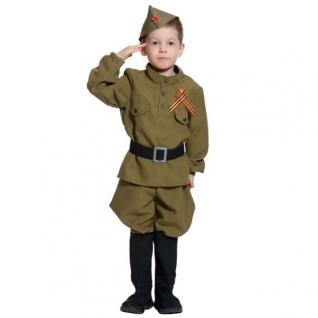 """Карнавальный костюм """"Солдатик"""", 128-134 см Карнавалофф"""
