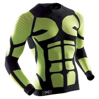 X-Bionic Футболка X-Bionic Precuperation, цвет черно-желтый