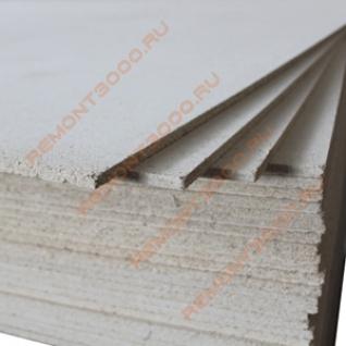 ГСП гипсостружечная плита 2500х1250х12мм (3,125м2) / ГСП гипсостружечная плита 2500х1250х12мм (3,125м2) прямая кромка