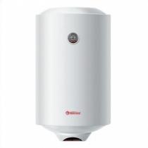 Водонагреватель электрический накопительный 80л вертикальный, круглый, Термекс Silverheat ERS 80 V, эмалированный бак, белый