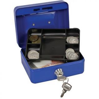 Кэшбокс ONIX МВ-0, ключ, синий, 125х95х60