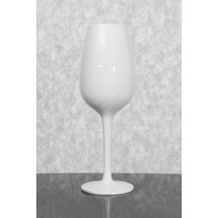 Ваза декоративная керамическая MALIBU белая