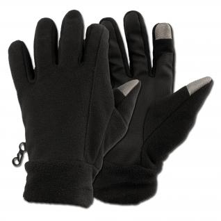 Highlander Перчатки Highlander Touchscreen, цвет черный