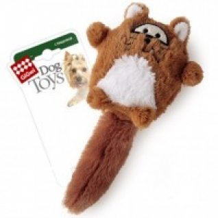 """Игрушка для собак """"Лиса"""" с большой пищалкой, 18 см GiGwi"""